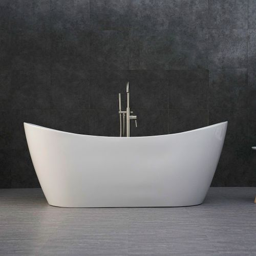 "WOODBRIDGE B-0017 Bathtub, 71"" B-0017 White"