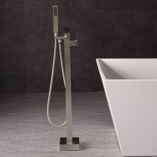 WOODBRIDGE F-0003  Bathtub Faucet, Brushed Nickel