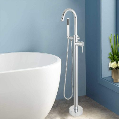 WOODBRIDGE F-0002  Bathtub Faucet,  Chrome Finish
