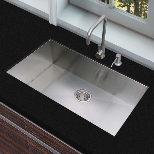 Woodbridge Kitchen Sink, 32 Inch, Stainless Steel MKA3219